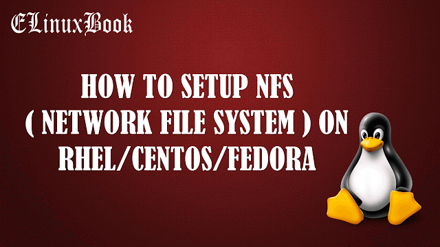 Setup NFS Server in Linux