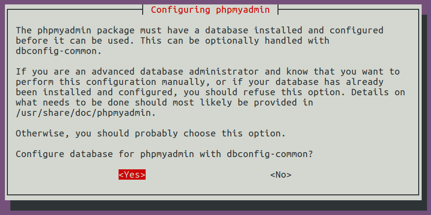 Allowing PHPMyAdmin to create Database in MySQL Server