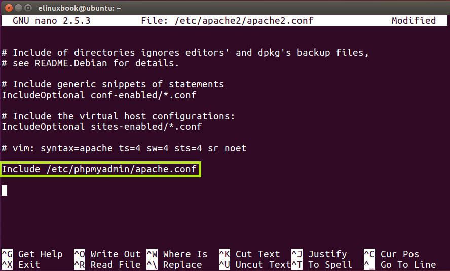 Configuring Apache2 to work with PHPMyAdmin
