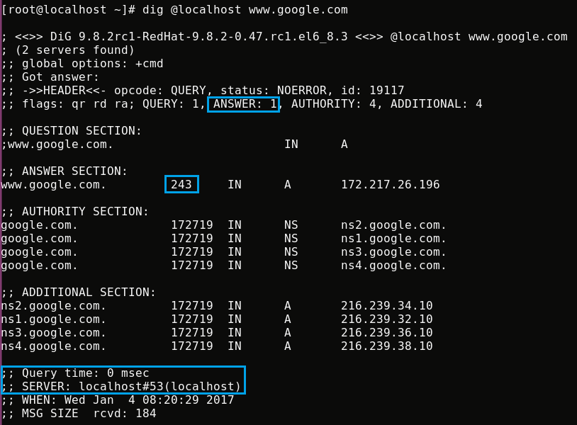 HOW TO INSTALL AND CONFIGURE CACHING-ONLY DNS SERVER WITH