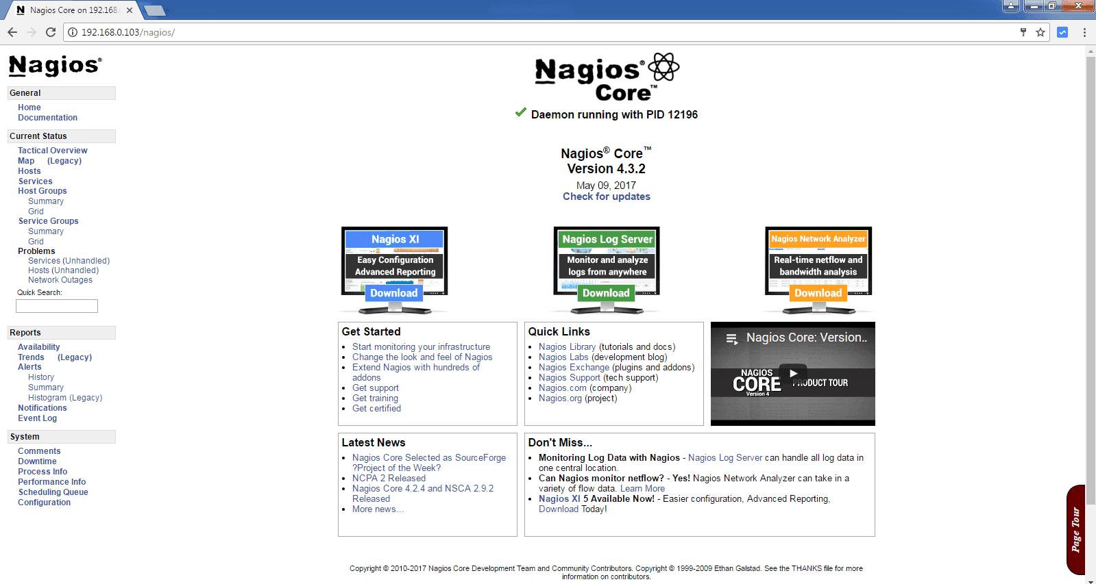 Network Bandwidth Nagios Dashboard : Step by nagios core installation on redhat centos