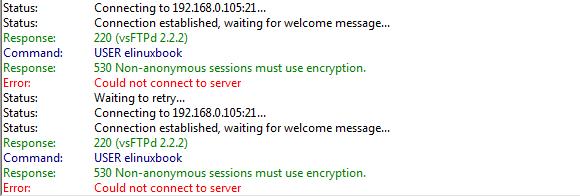 SECURE LINUX FTP SERVER (VSFTPD SERVER) USING SSL ENCRYPTION