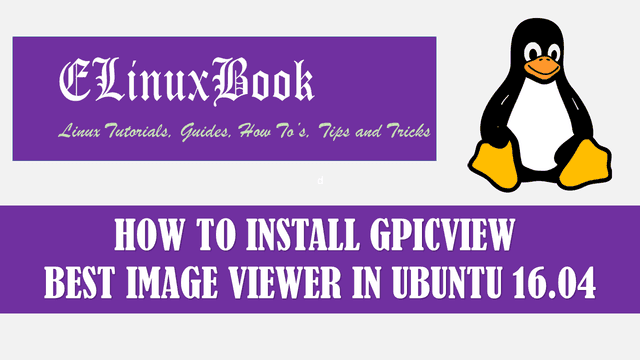 HOW TO INSTALL GPICVIEW BEST IMAGE VIEWER IN UBUNTU 16.04