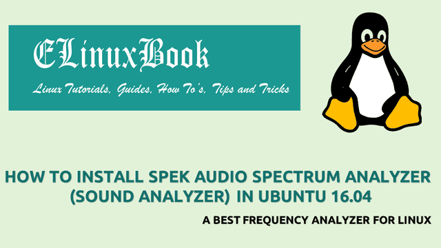 HOW TO INSTALL SPEK AUDIO SPECTRUM ANALYZER (SOUND ANALYZER